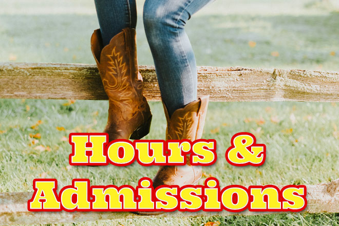 Hours and admissions